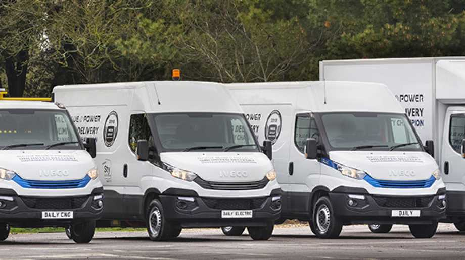 First Drive Iveco Daily Blue Power Range Greenfleet