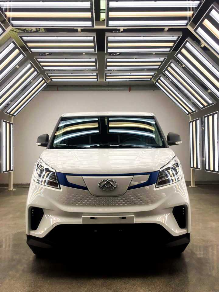 It Is The First Vehicle In Ldv S Range That Will Only Come As A Zero Emission Fully Electric