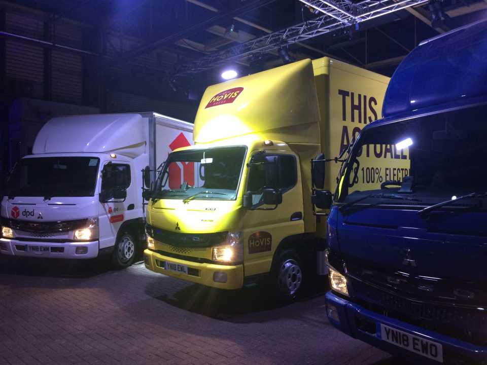 Wincanton, Hovis and DPD take delivery of electric trucks